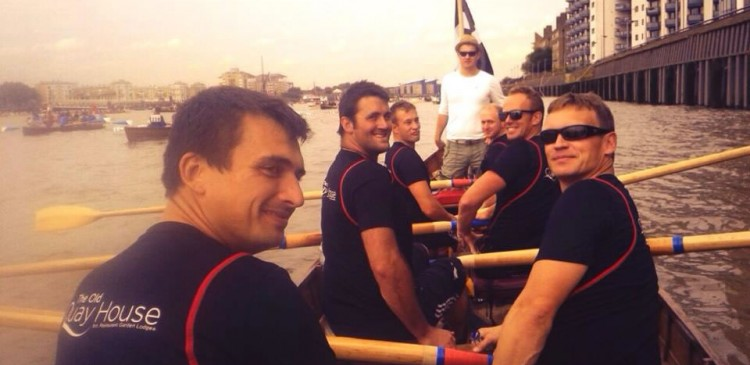 London Great River Race 2014