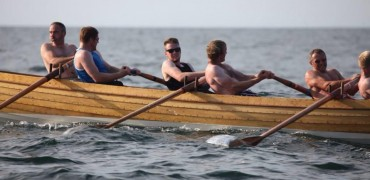 Spare boat for men's racing in Scilly