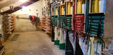 Set of gig oars for sale