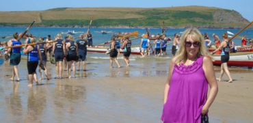 Cotehele Rower Raising Money for Cancer Research UK