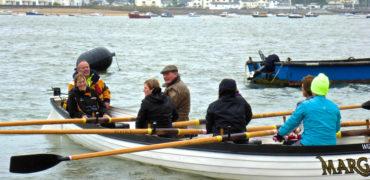 Gig Rowing with War Horse author Sir Michael Morpurgo