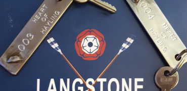 Auction of Nostalgic Key Rings made from Heart of Hayling's Keel band