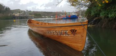 Falmouth Pilot Gig to Launch New Boat 'Arwenack'