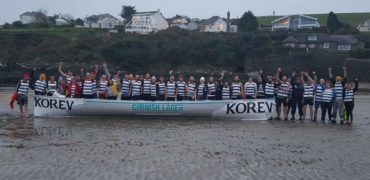Cornish Barbarians Complete Marathon Row