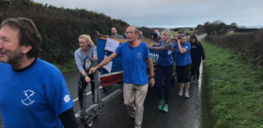 Port Isaac Put Their Best Foot Forward in Annual 'Gig Push'